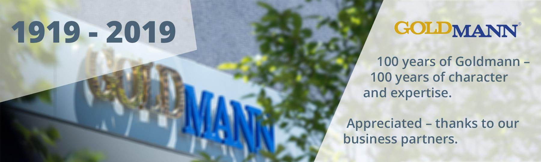 100 years of GoldMann in Bielefeld
