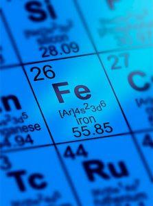 Eisen-Elementsymbol
