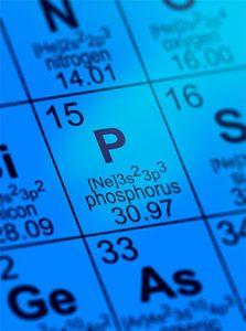 Phosphor-Elementsymbol