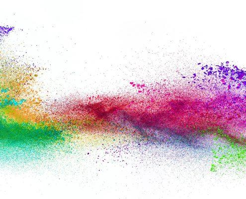 Pigmente und Farbstoffe, dekorative Kosmetik