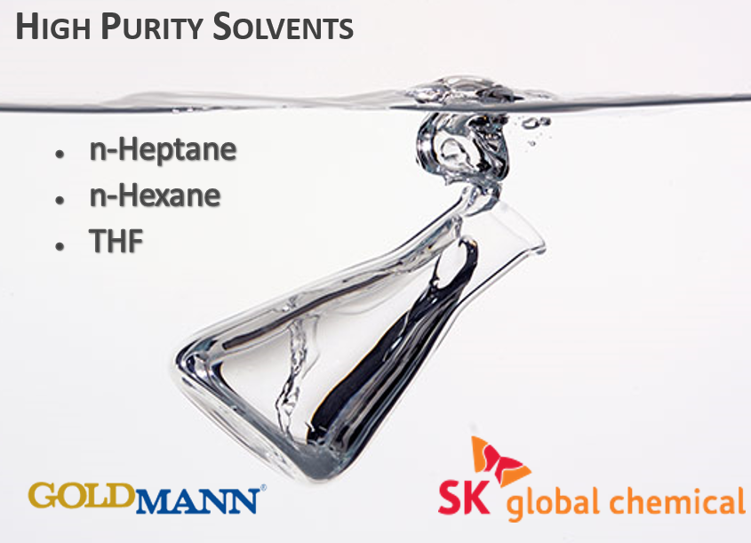 High Purity Solvents THF